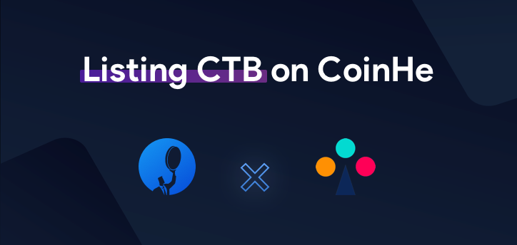 Listing CTB on Coinhe